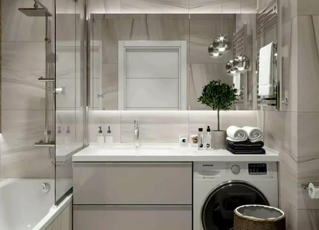 как сделать маленькую ванную комнату уютной