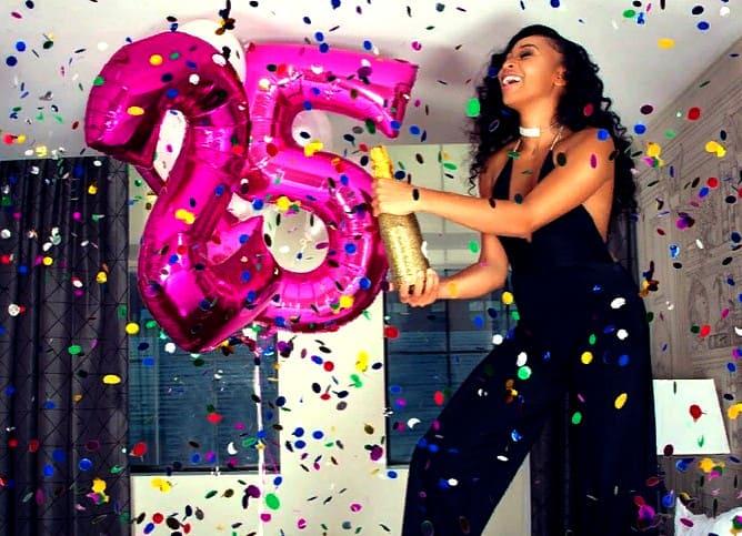 Как отпраздновать 25 лет