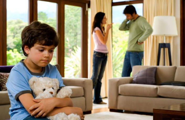 как принять ребенка мужа