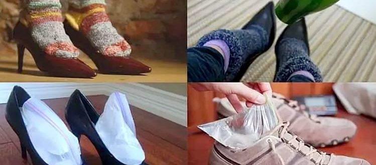 как разносить обувь, которая жмет